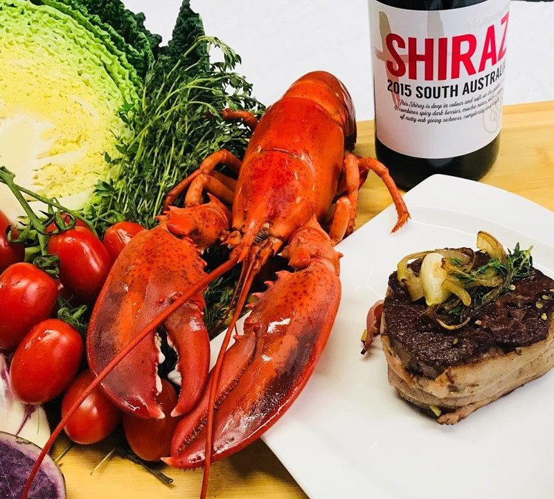"""Surf & Turf"" Dinner Party"